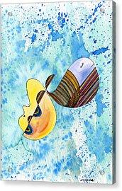 Humpback Whale In Harmony Acrylic Print