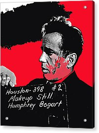 Humphrey Bogart The Maltese Falcon Makeup Photo Acrylic Print by David Lee Guss
