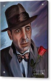 Humphrey Deforest Bogart Acrylic Print by Andrzej Szczerski