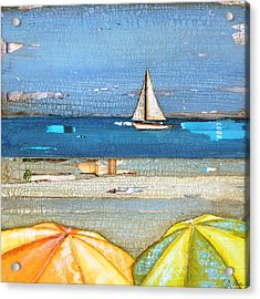 Hundred Percent Chance Of Sun Showers Acrylic Print by Danny Phillips