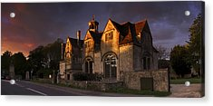Hungerford Almshouses Acrylic Print