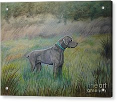 Acrylic Print featuring the painting Hunter by Laurianna Taylor