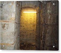 Hunthall Stone Doorway Acrylic Print