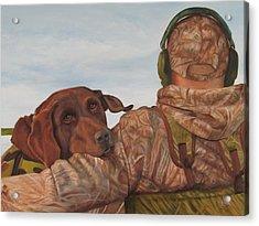 Hunting Boyfriend Acrylic Print