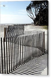 Acrylic Print featuring the photograph Hunting Island - 6 by Ellen Tully