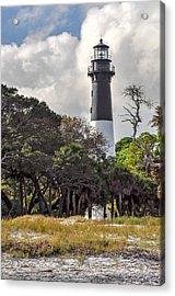 Hunting Island Lighthouse Acrylic Print by Donnie Smith