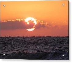 Hunting Island Sunrise Acrylic Print by Patricia Greer