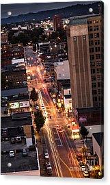 Huntington After Dark Acrylic Print by Lee Wellman