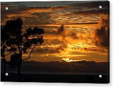 Huntington Beach Sunset Acrylic Print by Matt Harang