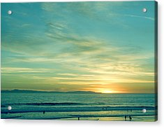 Huntington Beach Acrylic Print
