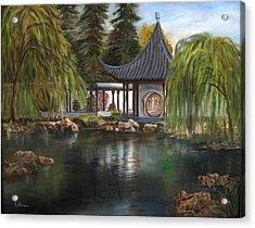 Huntington Chinese Gardens Acrylic Print