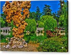 Huntington Gardens Ca Acrylic Print by Richard J Cassato