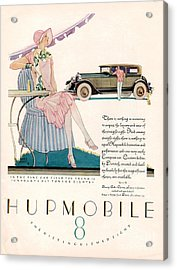 Hupmobile 1927 1920s Usa Cc Cars Acrylic Print by The Advertising Archives