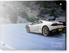 Huracan Acrylic Print by Roger Lighterness