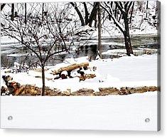 Huron River Acrylic Print