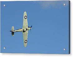Hurricane In Action Acrylic Print by Donald Turner