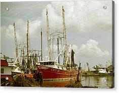 Hurricane Katrina Aftermath Acrylic Print by Belinda Lee