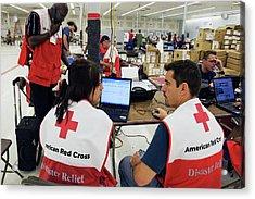 Hurricane Katrina Coordination Centre Acrylic Print