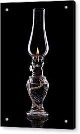 Hurricane Lamp Still Life Acrylic Print