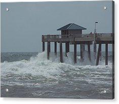 Acrylic Print featuring the photograph Hurricane Rita 2 by Michele Kaiser