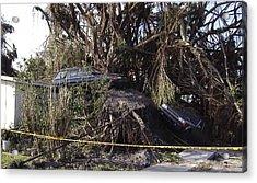 Hurricane Wilma Revenge In Pompano Beach  Acrylic Print