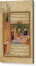 Husayn Akhlati Receiving Gifts Acrylic Print