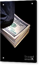 Hush Money Acrylic Print by Olivier Le Queinec