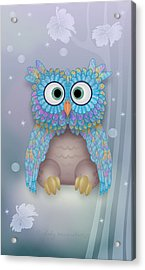 Hushaby Acrylic Print by Gayle Odsather
