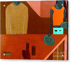 Acrylic Print featuring the painting Hussongs Cantina Baja by Bill OConnor