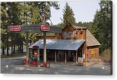 Huttons General Store Acrylic Print