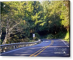 Hwy 101 North Acrylic Print by Chris Anderson