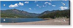 Hyalite Reservoir -- East View Acrylic Print by Charles Kozierok