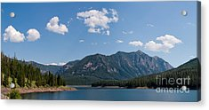 Hyalite Reservoir -- South View Acrylic Print
