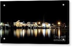 Hyannis At Night Acrylic Print