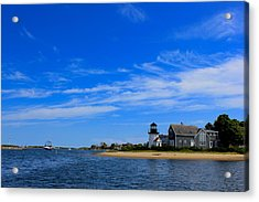 Acrylic Print featuring the photograph Hyannis Harbor by Amazing Jules