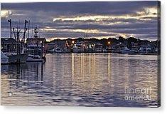 Hyannis Sunset Acrylic Print