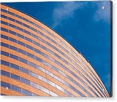 Hyatt Regency Arc Acrylic Print by Rob Amend