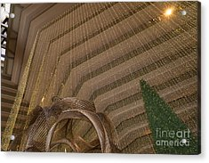 Hyatt Regency Hotel Embarcadero San Francisco California Dsc1974 Acrylic Print