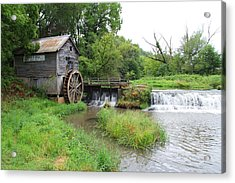 Hyde Mill Acrylic Print by John Kunze