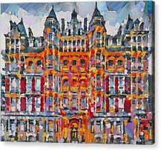 Hyde Park Hilton London Acrylic Print