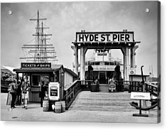 Hyde St. Pier Acrylic Print