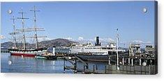 Hyde Street Pier - San Francisco Acrylic Print by Daniel Hagerman