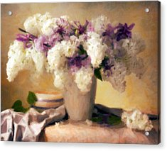 Hydrangea Summer Display Acrylic Print