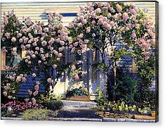Hydrangeas Acrylic Print
