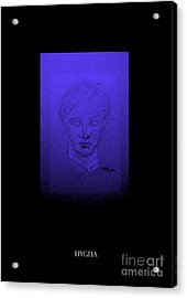 Acrylic Print featuring the photograph Hygeia by Linda Prewer