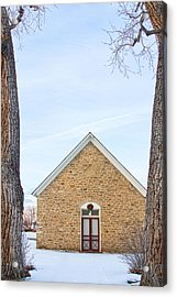 Hygiene Church Of The Brethren 1880 In Color Acrylic Print by James BO Insogna