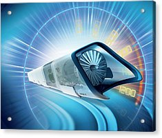 Hyperloop Train Acrylic Print
