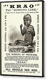 Hypertrichosis Exhibit Poster Acrylic Print by British Library