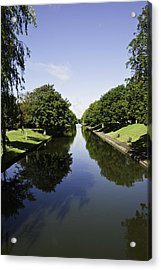 Hythe Military Canal Acrylic Print by Lesley Rigg
