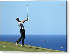 Hyundai Tournament Of Champions - Round Two Acrylic Print by Andy Lyons